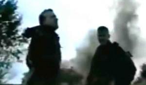 Atif Dufaković na položaju u Cazinskoj Krajini Foto: screenshot