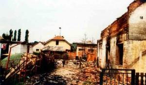 Razaranje u Oluji 1995. Foto: Veritas Arhiva