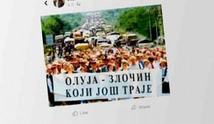 """Sporna objava Zorana Baćanovića na FB """"Oluja je zločin koji traje"""" Foto: screenshot FB, Index.hr"""