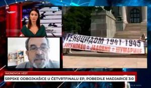 Savo Štrbac o Međunarodnom danu nestalih, 30.8.2021. Foto:TV Vesti, screenshot