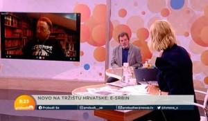 """""""E Srbine, stišaj to malo!"""": Predrag Ličina i Savo Štrbac,8.9.2021. Foto: NovaS printscreen"""