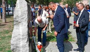 Polaganje veća i venaca za žrtve operacije Medački Džep, 2021. Foto: SRNA, Glas Srpske