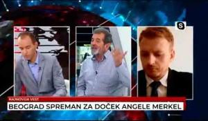Televizija Vesti, Počeo popis stanovništva u Hrvatskoj, kako sa Srbima, 13.9.2021. Foto: Screenshot