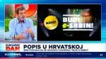 Štrbac o popisu u Hrvatskoj: Izjasnite se kao Srbi, od toga zavise mnoga prava u narednih 10 godina, 16.9.2021. Foto: Euronews, screenshot