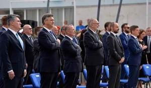 Boris Milošević na proslavi Oluje u Kninu, 2020. Foto: Internet