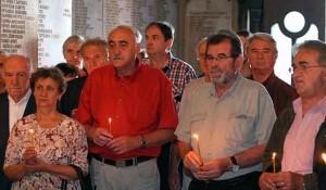 Parastos srpskim žrtvama u Medačkom Džepu, 1993. Crkva Sv. Marka, 2021. Foto: Sputnjik, Tanjug, Sava Radovanović