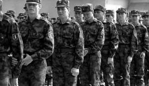 Slovenačka (para)vojska 1991. Foto:Siol.net