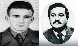 vojnik Stojadin Mirković i narodni heroj major Milan Tepić Foto: SRNA